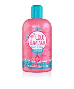 Для тіла Гель для душу з маслом кокосу Inecto COCO FLAMINGO BODY WASH фото, цена