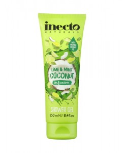 Для тіла Гель для душу Inecto Infusions Lime and Mint Coconut Shower Gel фото, цена