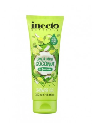 Для тела Гель для душа  Inecto Infusions Lime and Mint Coconut Shower Gel фото, цена