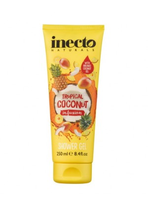Для тела Гель для душа  Inecto Infusions Tropical Coconut  Shower Gel  фото, цена